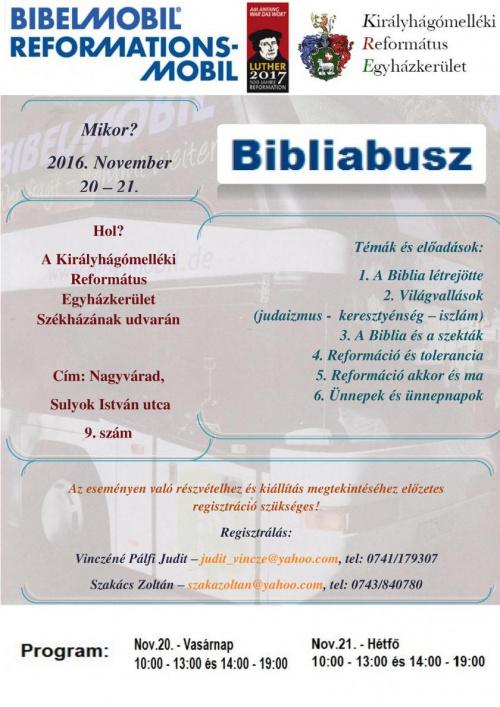 plakat bibelmobil 2016