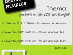 German Film Club 2019/20/I.